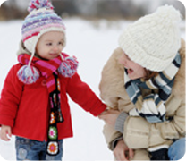 Tips to Help You Keep Your Child Safer in Winter & Snow